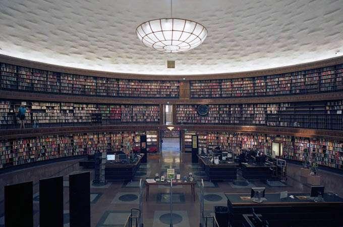 Stockholm Public Library - Sweden