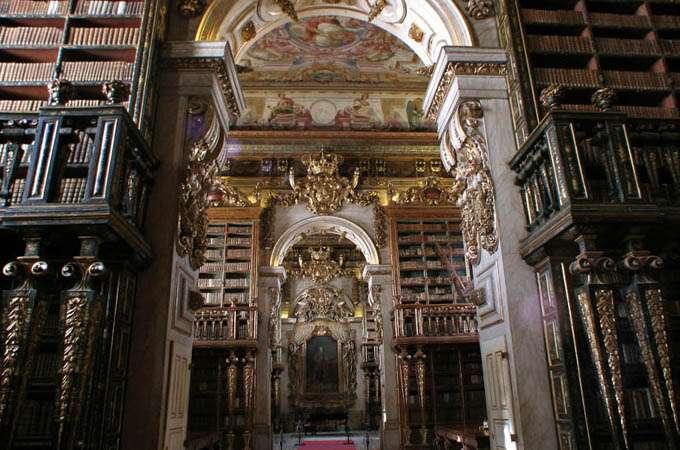 The Joanina Library, University of Coimbra - Portugal