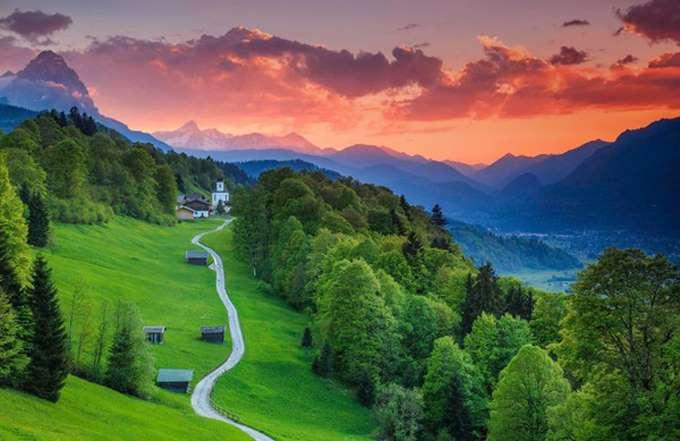 Garmisch-Partenkirchen-Bavaria-Germany