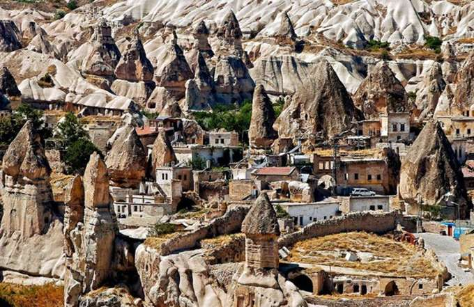 Goreme-underground-city-Turkey