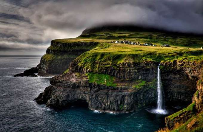 Village-Gasadalur-Faroe-Islands-Denmark